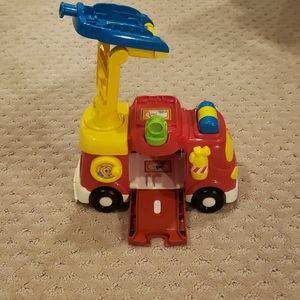 2/20 Vtech fire truck component linking track.